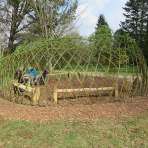 Willow classroom, Hillier Gardens April 2015