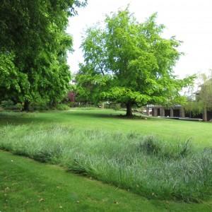 Portchester Crematorium garden