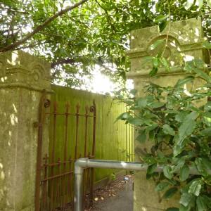 Langdown Lawn - remnants of former entrance