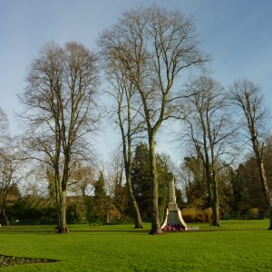 War Memorial Park, Romsey 2014
