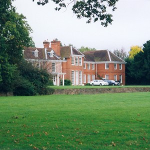 Yateley Hall front