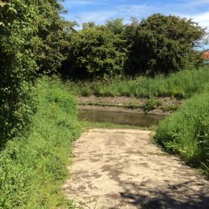 Canalised stream